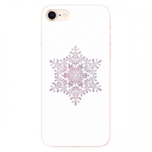 Odolné silikonové pouzdro iSaprio - Snow Flake - iPhone 8