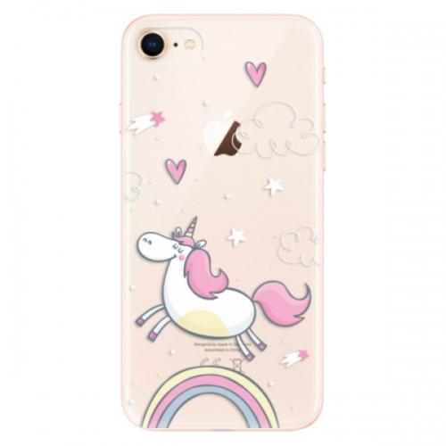 Odolné silikonové pouzdro iSaprio - Unicorn 01 - iPhone 8