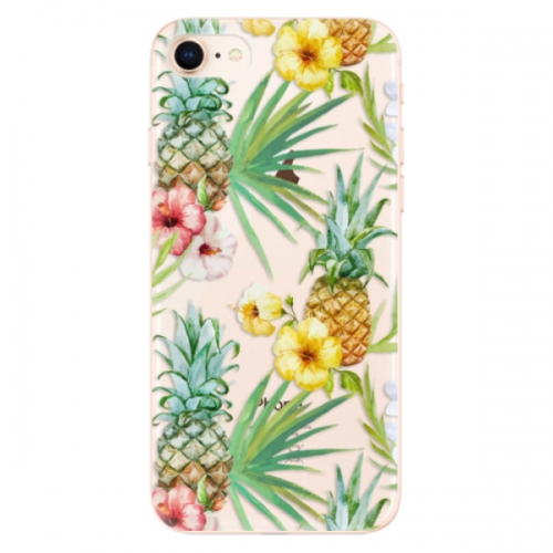 Odolné silikonové pouzdro iSaprio - Pineapple Pattern 02 - iPhone 8