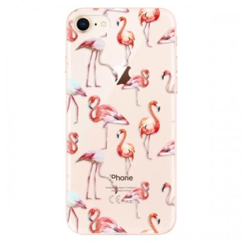 Odolné silikonové pouzdro iSaprio - Flami Pattern 01 - iPhone 8