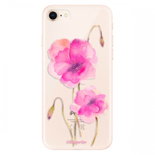 Odolné silikonové pouzdro iSaprio - Poppies 02 - iPhone 8