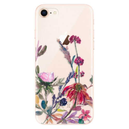 Odolné silikonové pouzdro iSaprio - Herbs 02 - iPhone 8