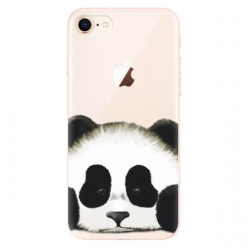 Odolné silikonové pouzdro iSaprio - Sad Panda - iPhone 8