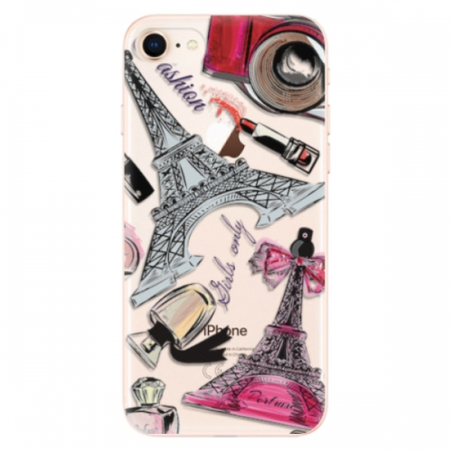 Odolné silikonové pouzdro iSaprio - Fashion pattern 02 - iPhone 8
