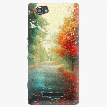 Plastový kryt iSaprio - Autumn 03 - Sony Xperia M