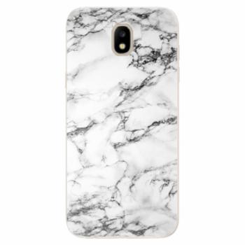 Odolné silikonové pouzdro iSaprio - White Marble 01 - Samsung Galaxy J5 2017