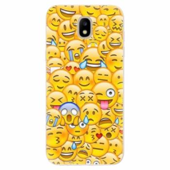 Odolné silikonové pouzdro iSaprio - Emoji - Samsung Galaxy J5 2017