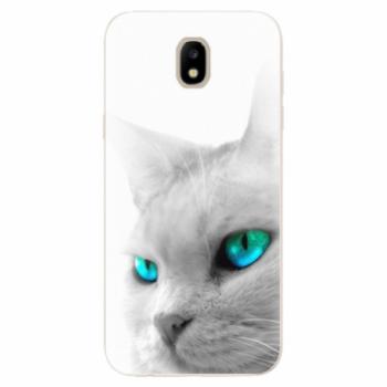 Odolné silikonové pouzdro iSaprio - Cats Eyes - Samsung Galaxy J5 2017
