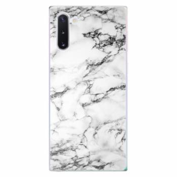Odolné silikonové pouzdro iSaprio - White Marble 01 - Samsung Galaxy Note 10