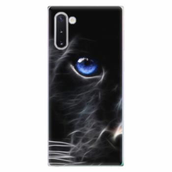 Odolné silikonové pouzdro iSaprio - Black Puma - Samsung Galaxy Note 10