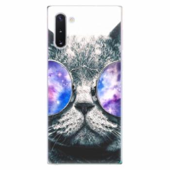 Odolné silikonové pouzdro iSaprio - Galaxy Cat - Samsung Galaxy Note 10