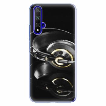 Plastové pouzdro iSaprio - Headphones 02 - Huawei Honor 20