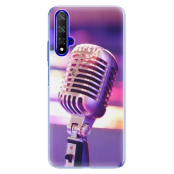 Plastové pouzdro iSaprio - Vintage Microphone - Huawei Honor 20