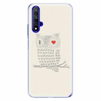 Plastové pouzdro iSaprio - I Love You 01 - Huawei Honor 20