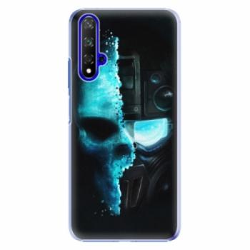 Plastové pouzdro iSaprio - Roboskull - Huawei Honor 20