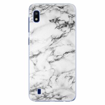 Plastové pouzdro iSaprio - White Marble 01 - Samsung Galaxy A10