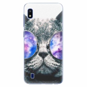 Plastové pouzdro iSaprio - Galaxy Cat - Samsung Galaxy A10