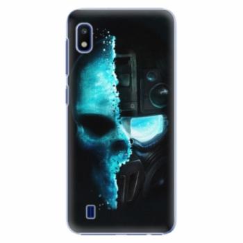 Plastové pouzdro iSaprio - Roboskull - Samsung Galaxy A10