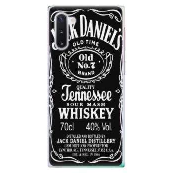 Plastové pouzdro iSaprio - Jack Daniels - Samsung Galaxy Note 10
