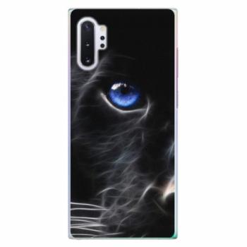 Plastové pouzdro iSaprio - Black Puma - Samsung Galaxy Note 10+