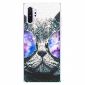 Plastové pouzdro iSaprio - Galaxy Cat - Samsung Galaxy Note 10+