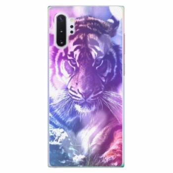 Plastové pouzdro iSaprio - Purple Tiger - Samsung Galaxy Note 10+