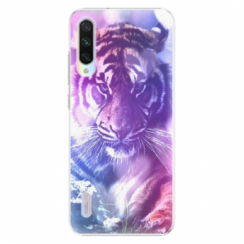 Plastové pouzdro iSaprio - Purple Tiger - Xiaomi Mi A3
