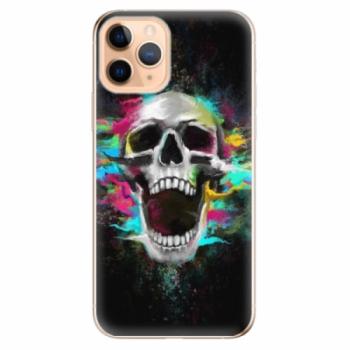 Odolné silikonové pouzdro iSaprio - Skull in Colors - iPhone 11 Pro
