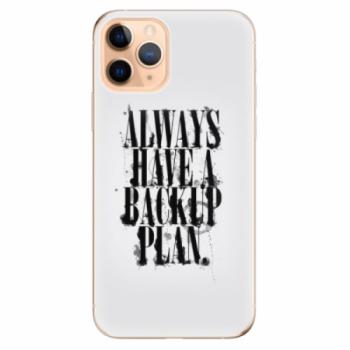 Odolné silikonové pouzdro iSaprio - Backup Plan - iPhone 11 Pro