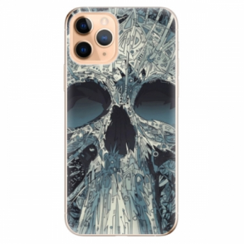 Odolné silikonové pouzdro iSaprio - Abstract Skull - iPhone 11 Pro