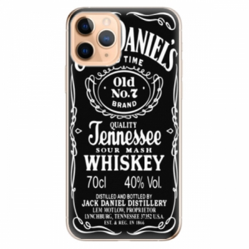Odolné silikonové pouzdro iSaprio - Jack Daniels - iPhone 11 Pro