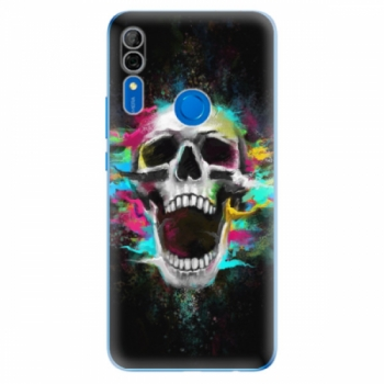 Odolné silikonové pouzdro iSaprio - Skull in Colors - Huawei P Smart Z