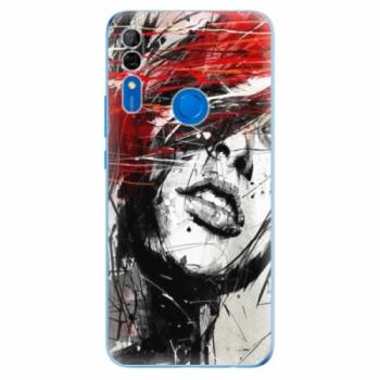 Odolné silikonové pouzdro iSaprio - Sketch Face - Huawei P Smart Z