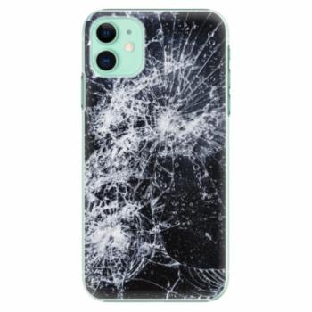 Plastové pouzdro iSaprio - Cracked - iPhone 11