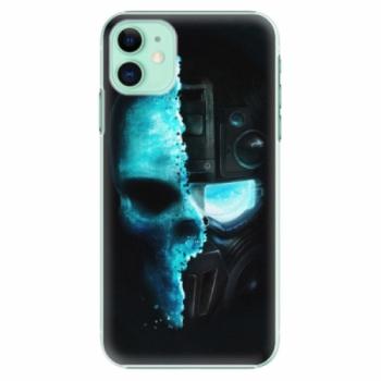 Plastové pouzdro iSaprio - Roboskull - iPhone 11