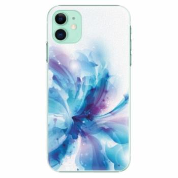 Plastové pouzdro iSaprio - Abstract Flower - iPhone 11