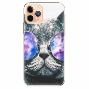 Plastové pouzdro iSaprio - Galaxy Cat - iPhone 11 Pro