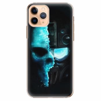 Plastové pouzdro iSaprio - Roboskull - iPhone 11 Pro