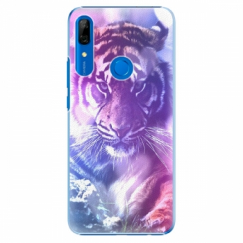 Plastové pouzdro iSaprio - Purple Tiger - Huawei P Smart Z