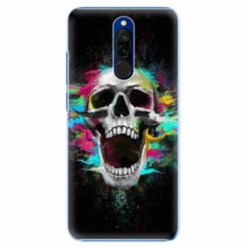 Plastové pouzdro iSaprio - Skull in Colors - Xiaomi Redmi 8