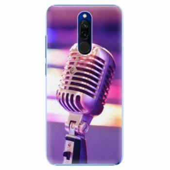 Plastové pouzdro iSaprio - Vintage Microphone - Xiaomi Redmi 8