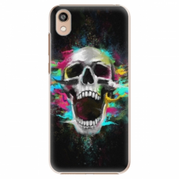 Plastové pouzdro iSaprio - Skull in Colors - Huawei Honor 8S