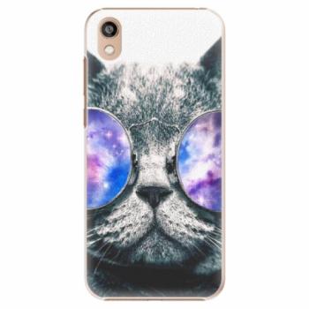 Plastové pouzdro iSaprio - Galaxy Cat - Huawei Honor 8S