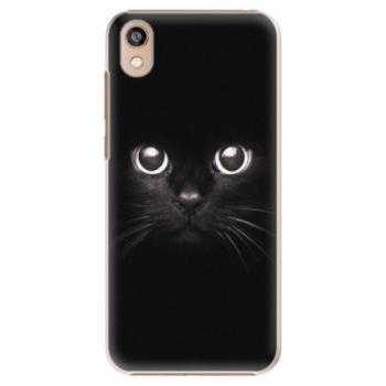 Plastové pouzdro iSaprio - Black Cat - Huawei Honor 8S