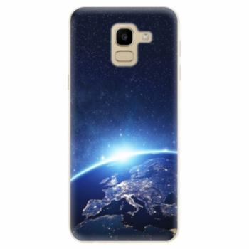 Odolné silikonové pouzdro iSaprio - Earth at Night - Samsung Galaxy J6