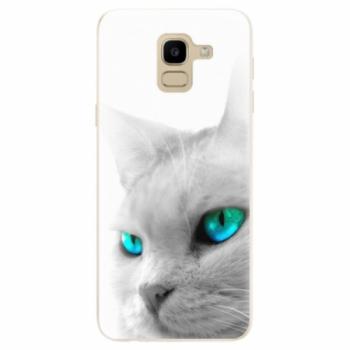 Odolné silikonové pouzdro iSaprio - Cats Eyes - Samsung Galaxy J6