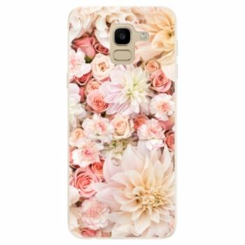 Odolné silikonové pouzdro iSaprio - Flower Pattern 06 - Samsung Galaxy J6