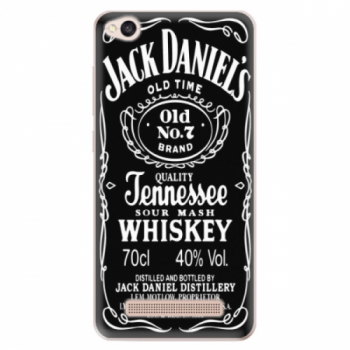 Odolné silikonové pouzdro iSaprio - Jack Daniels - Xiaomi Redmi 4A
