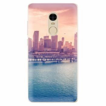 Odolné silikonové pouzdro iSaprio - Morning in a City - Xiaomi Redmi Note 4