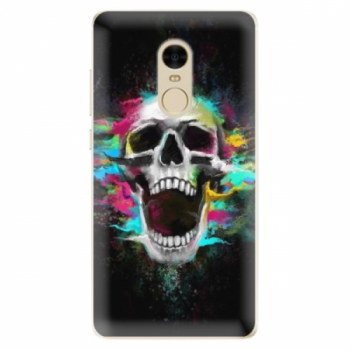 Odolné silikonové pouzdro iSaprio - Skull in Colors - Xiaomi Redmi Note 4
